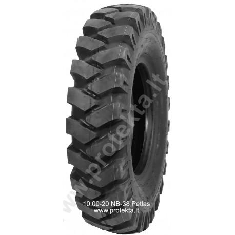 Tyre 10.00-20 NB38 E3 Petlas 16PR 146/143B TTF