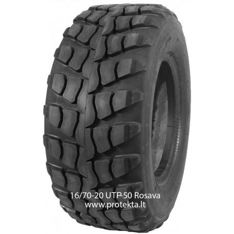Tyre 16.0/70-20 UTP-50 Rosava 14PR 147F Only tire