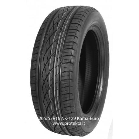 Tyre 205/55R16  Kama Euro-129 91V TL (vas.)