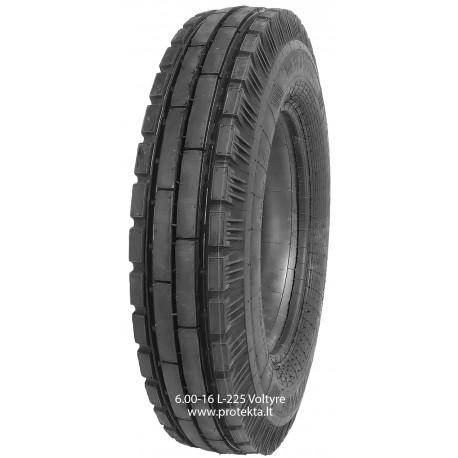 Tyre 6.00-16 L225 Voltyre 6PR 88A6 TT