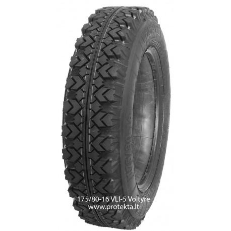 Tyre 175/80-16 (6.95-16)VLI5 Voltyre 6PR 85P TT