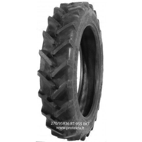 Tyre 270/95R36 (11.2R36) Agrimax RT955 BKT 139A8/B TL