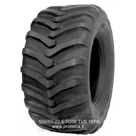 Tyre 550/55-22.5 TC-09 TVS 16PR 166A8/169A6 TL