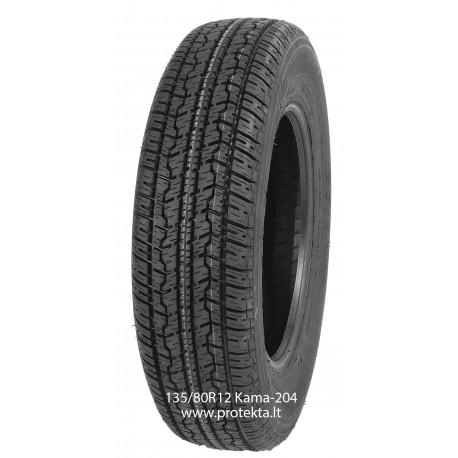 Tyre 135/80R12 Kama-204 Kama 68T TL