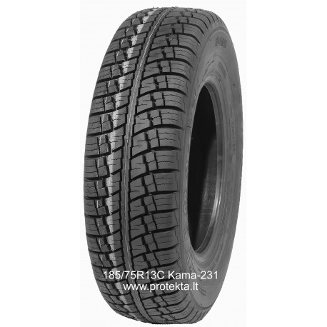 Padanga 185/75R13C KAMA-231 96N TL (all season)