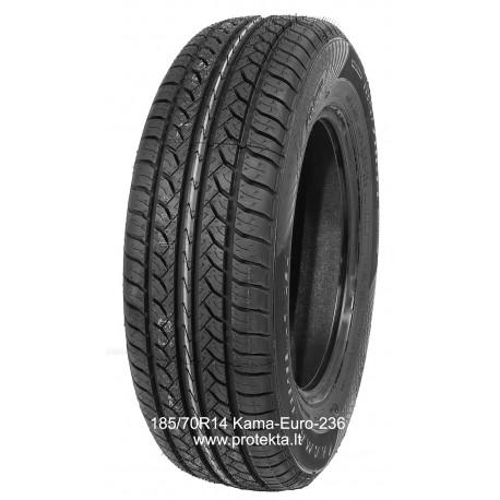 Tyre 185/70R14 Kama Euro-236 Kama 88H TL