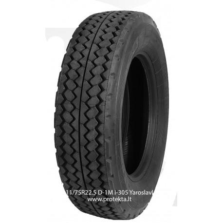 Tyre 11/70R22.5 D1M I-305 Yaroslavl 146/144J TL