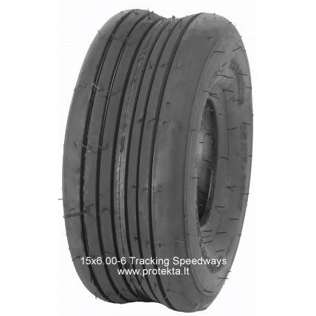 Tyre 15x6.00-6 Tracking Speedways 10PR 76A3 TL