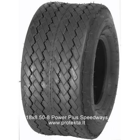 Tyre 18x8.5-8 Powerplus HD Speedways 8PR 89A3 TL