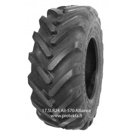 Tyre 460/70R24 (17.5LR24) 570 Alliance 159A8/159B TL