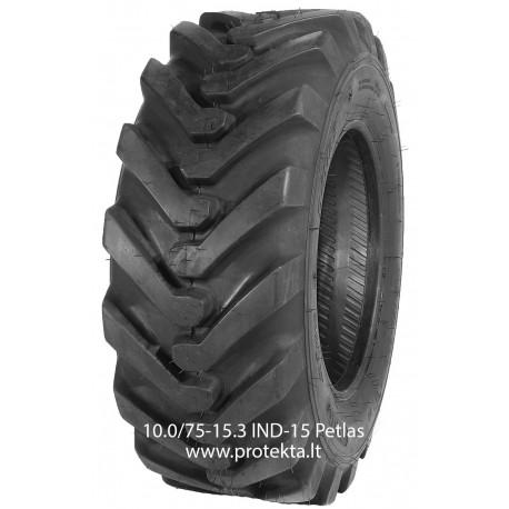 Tyre 10.0/75-15.3 IND-15 Petlas 12PR 126A8 TL