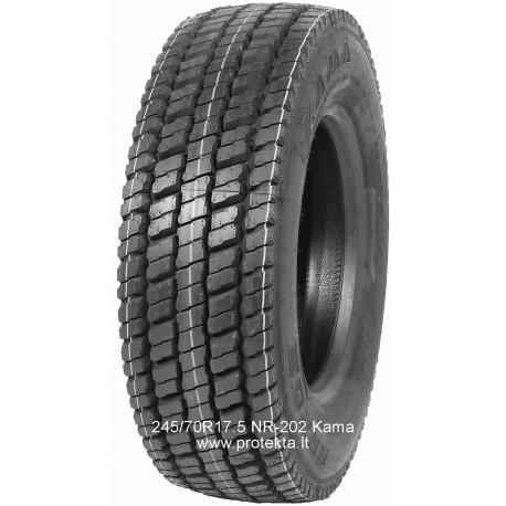 Tyre 245/70R17.5 NR-202 Kama CMK 136/134M TL M+S