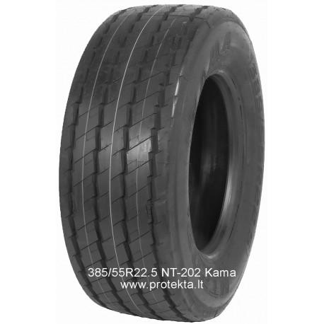 Tyre 385/55R22.5  NT202+ Kama 160K