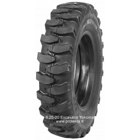 Tyre 8.25-20 EXCAVATOR Yokoma 14PR 122B TTF