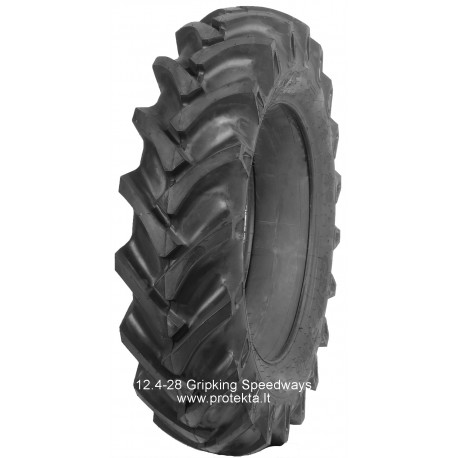 Tyre 12.4-28 Gripking 111 Speedways 8PR 123A6 TT