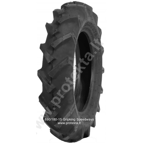 Tyre 690x180-15 Gripkinkg R-1 Speedways 6PR TT