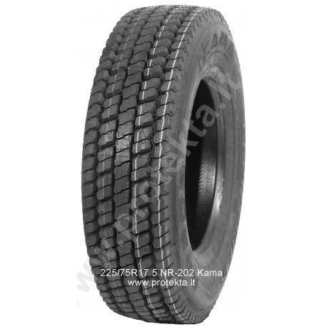 Tyre 225/75R17.5 NR202 KAMA CMK 129/127M TL M+S