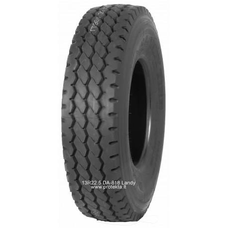 Tyre 13R22.5 DA818 LANDY 18PR 154/151K TL