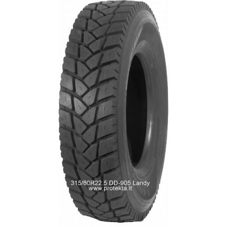 Tyre 315/80R22.5 DD905 LANDY 20PR 157/154L TL