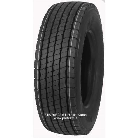 Tyre 315/70R22.5 NR-101 Kama CMK 154/150L TL