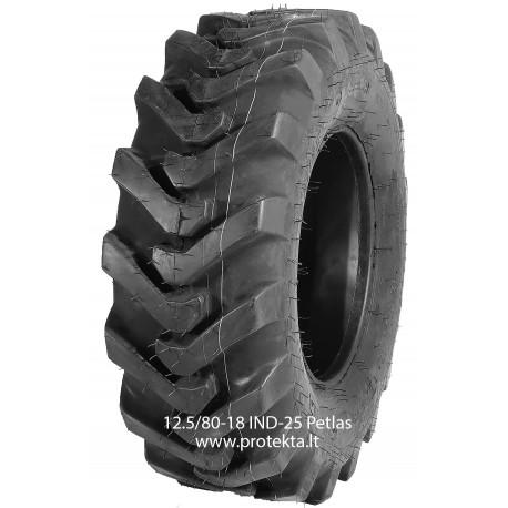Tyre 12.5/80-18 (340/80-18) IND25 Petlas 14PR 146A8 TL