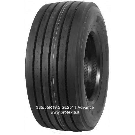 Tyre 385/55R19.5 GL-251T ADVANCE 20PR 156J TL M+S