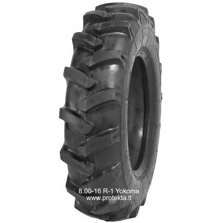 Tyre 8.00-16 R-1 Loricae 8PR 93A5 0.65t/25km/h_2.1atm.TT
