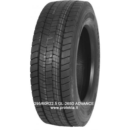 Tyre 295/60R22.5 GL265D Advance 18PR  TL M+S