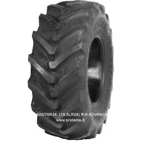 Tyre 500/70R24 (19.5LR24) R-4E ADVANCE IND164 TL