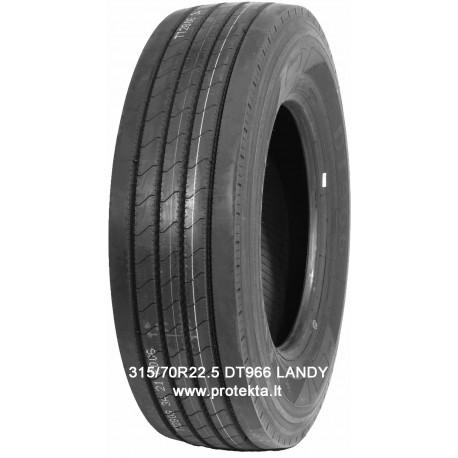 Tyre 315/70R22.5 DT966 LANDY 18PR 154/150M TL M+S