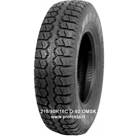 Tyre 215/80R16C O-92 OMSK 109M TT