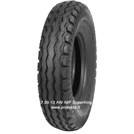 Tyre 7.00-12 6PR  IMP Superking TL (ž/ū)