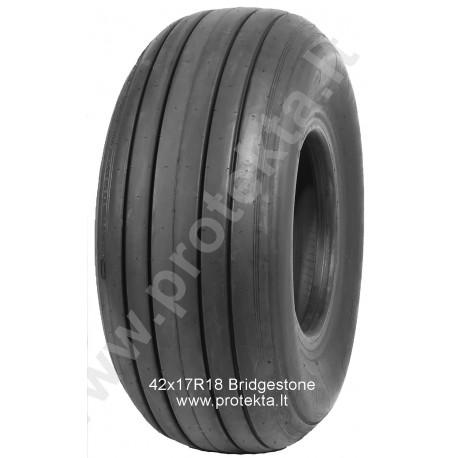 Tyre 42x17R18 (16.5/70-18) BRIDGESTONE 26PR 175A8 TL (retreaded)