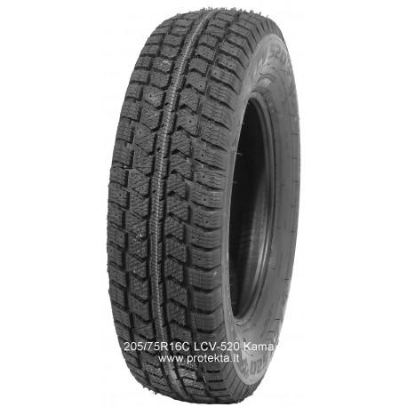 Tyre 205/75R16C LCV-520 Kama-Euro 110/108R TL M+S (wt)
