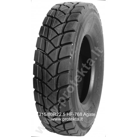 Tyre 315/80R22.5 HF-768 Agate 20PR 156/152L TL