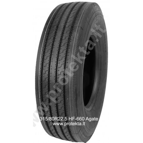 Tyre 315/80R22.5 HF-660 Agate 20PR 156/152L TL M+S
