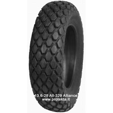 Tyre 13.6-28 ALL329 ALLIANCE 6PR 121A8 TL