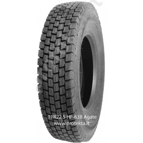 Tyre 11R22.5 HF638 Agate 16PR 148/145M  TL M+S 3PMSF
