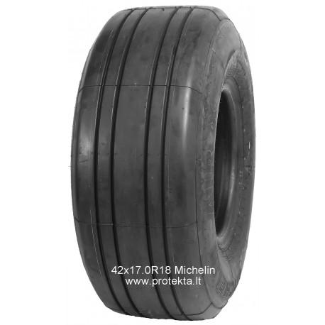 Tyre 42x17R18 (16.5/7018)  Michelin 26PR 175A8 TL (restauruota)