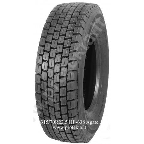 Tyre 315/70R22.5 HF-638 Agate 20PR 154/150 TL
