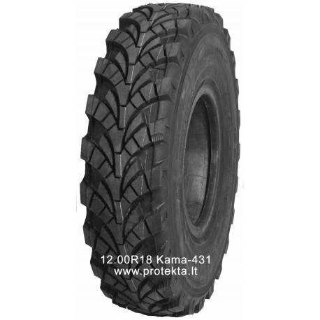 Tyre 12.00R18 Kama-431 135J TTF M+S