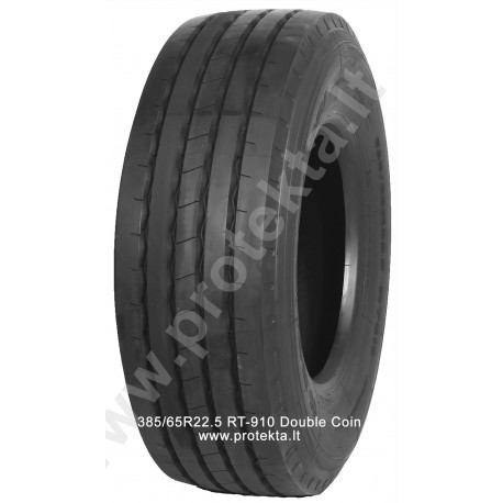 Tyre 385/65R22.5 RT-910 Double Coin 20PR 160K TL M+S