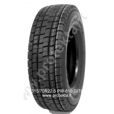 Tyre 315/70R22.5 PW610 Primewell 18PR 154/151M TL M+S