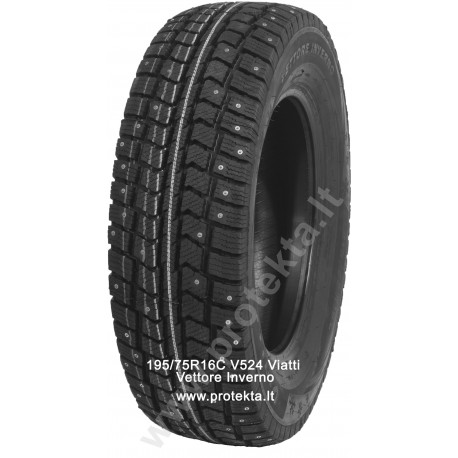 Tyre 195/75R16C Viatti Vettore Inverno V524 107/105R TL M+S dygl.