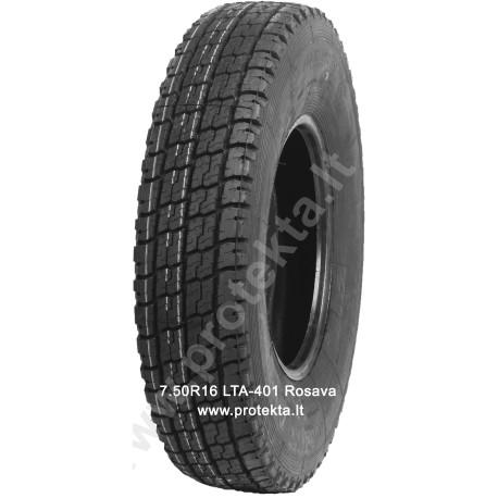 Tyre 7.50R16 Rosava LTA401 122/120N