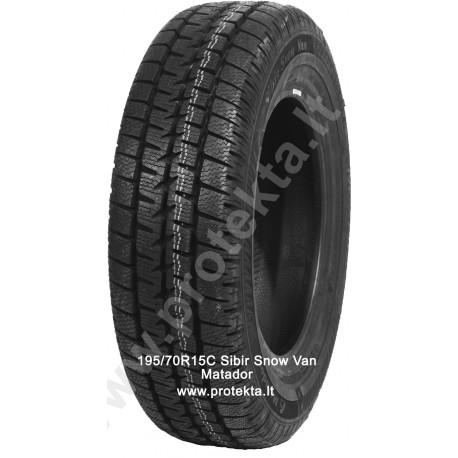 Tyre 195/70R15C MPS530 Sibir Snow Van Matador 104/102R TL M+S