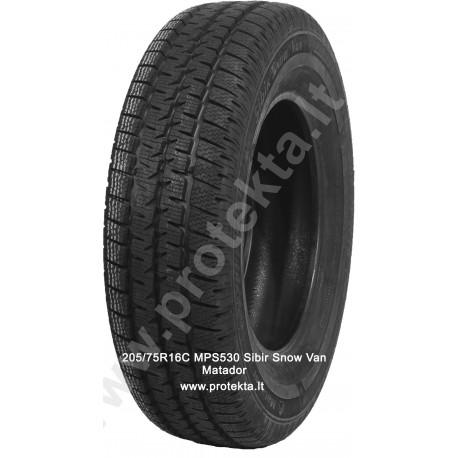 Tyre 205/75R16C MPS530 Sibir Snow Van Matador 8PR 110/108R TL M+S