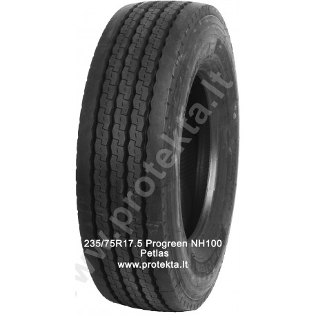 Tyre 235/75R17.5 Progreen NH100 Petlas 143/141J  TL M+S