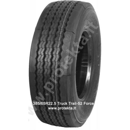 Tyre 385/65R22.5 Truck Trail-52 FORCE 20PR 160L 4.50t/120km/h TL