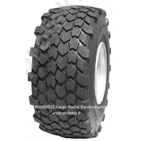 Tyre 600/65R23 Kargo-Radial Bandenmarkt 184A8/180D TL